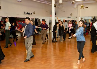 Group dance lesson - Halloween party at  Crown dance studio