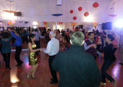 Party at Crown Dance studio