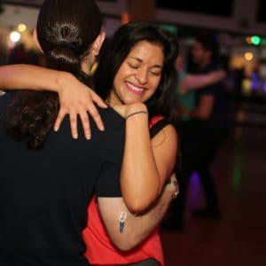 Couple dancing Sensual Bachata dance